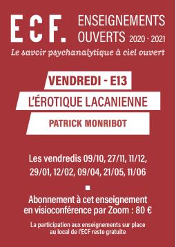 E13-L'érotique lacanienne
