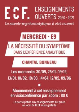 E9-La nécessité du symptôme...