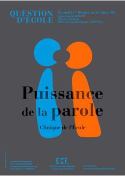 PUISSANCE DE LA PAROLE